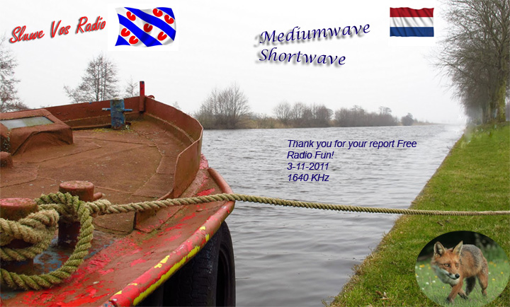 (Holland)Sluwe Vos Radio 20111103