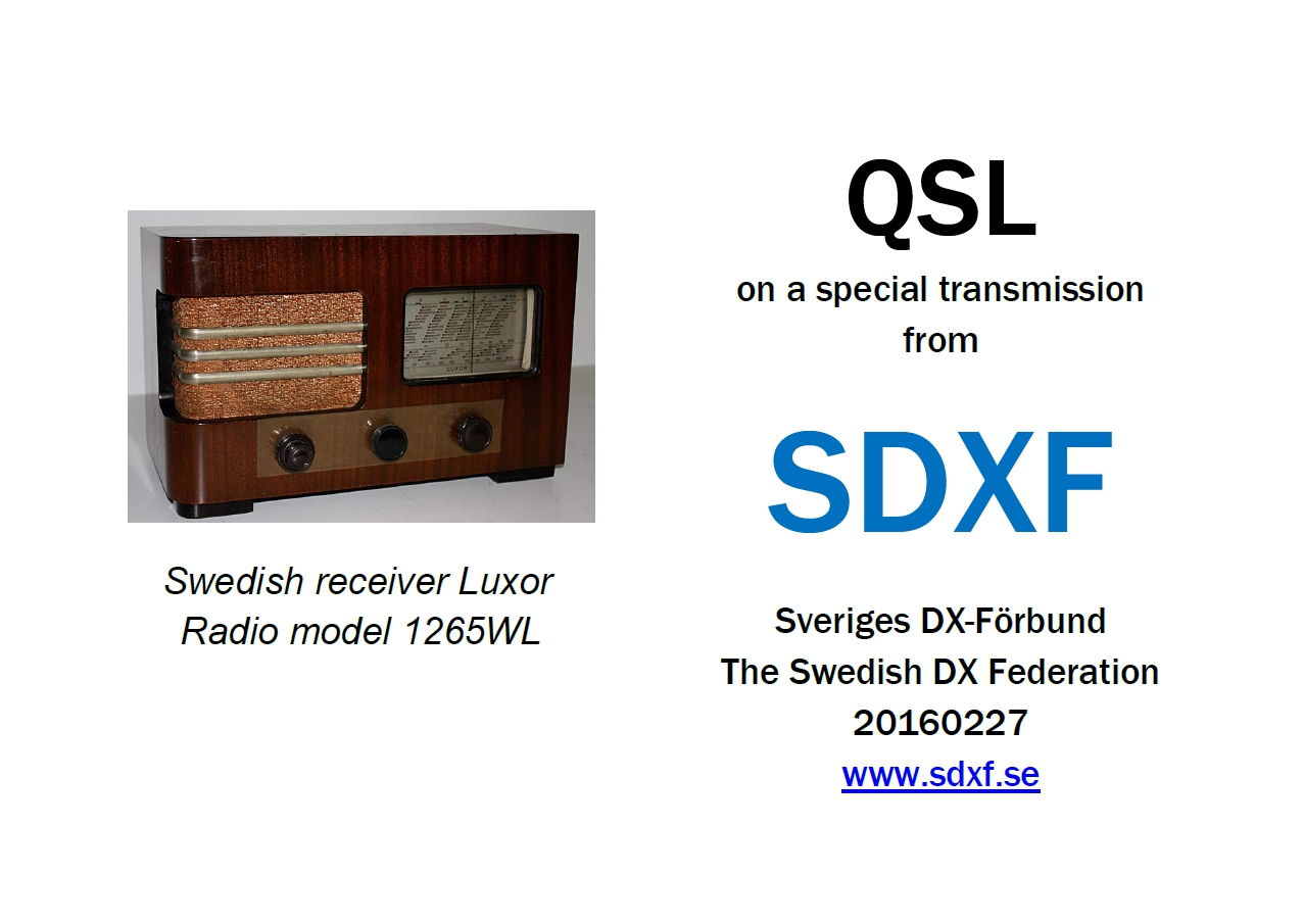 Swedish DX Federation