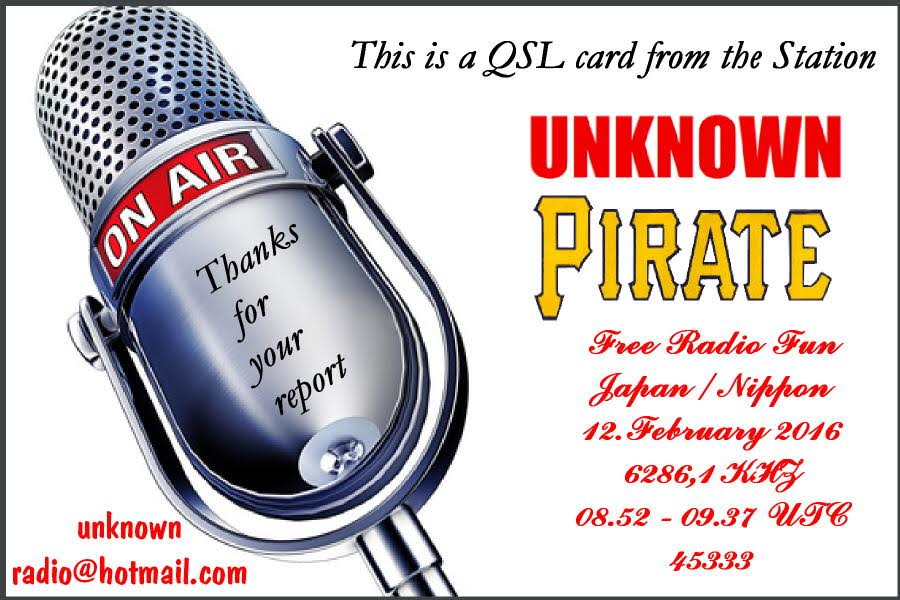 Unknown Pirate Radio