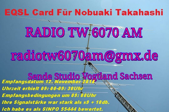 Radio TW 6070AM