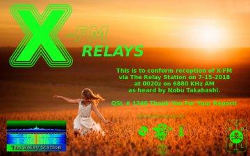 X-FM Relays