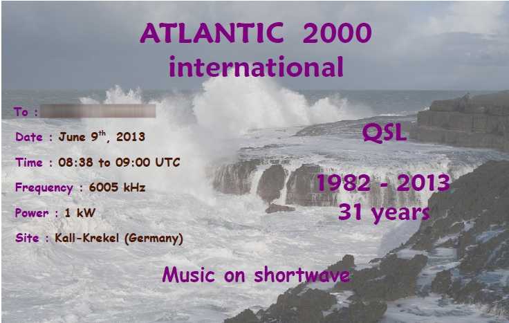 Radio Atlantic2000 International