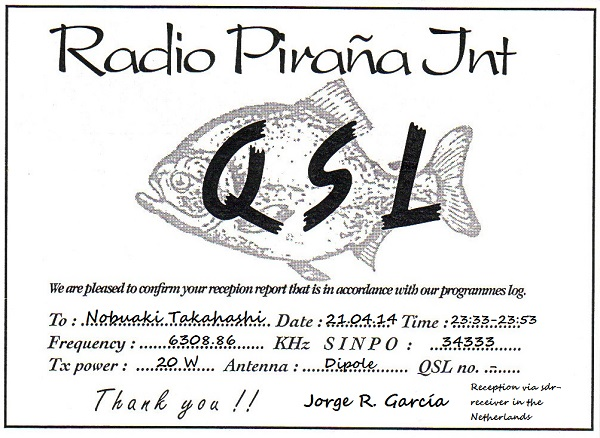 Radio Pirana Internacional