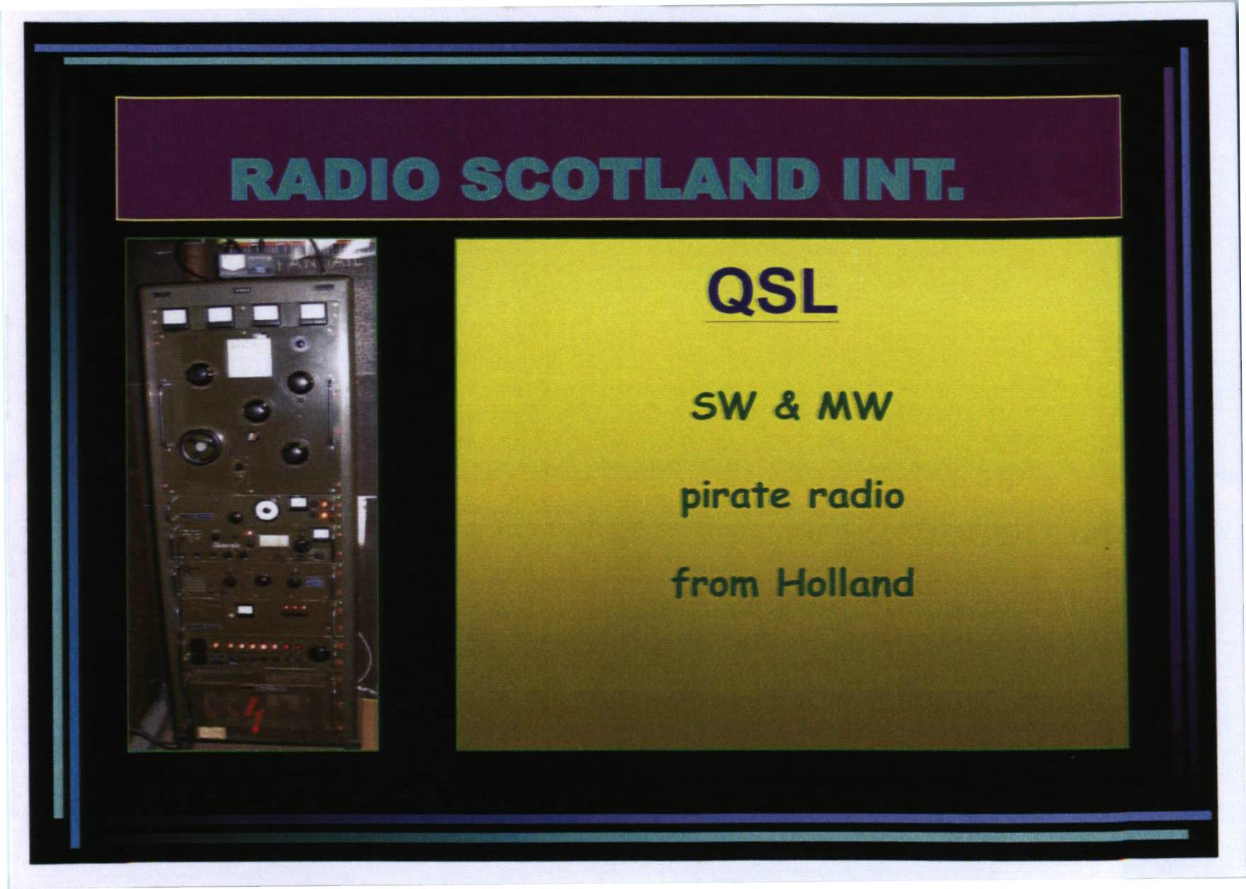 Radio Scotland International